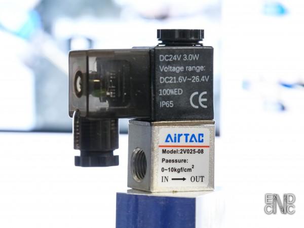 2/2 Magnetventil für Druckluft und Kühlmittel