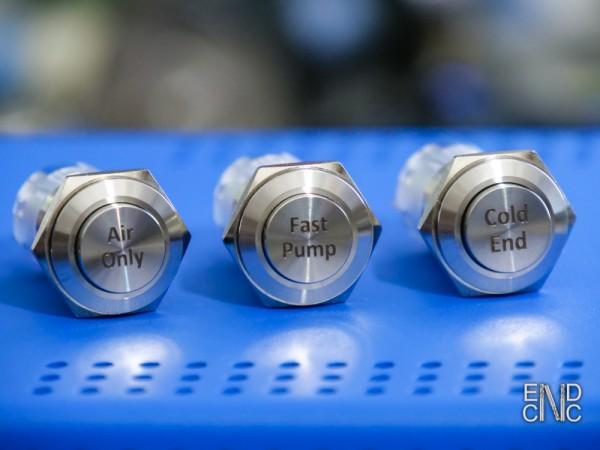 Schalter- und Tasterset für das ColdEND-Gehäuse