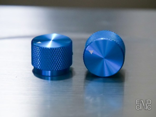 Potiknopf aus Aluminium, 20x15mm, in verschiedenen Farben